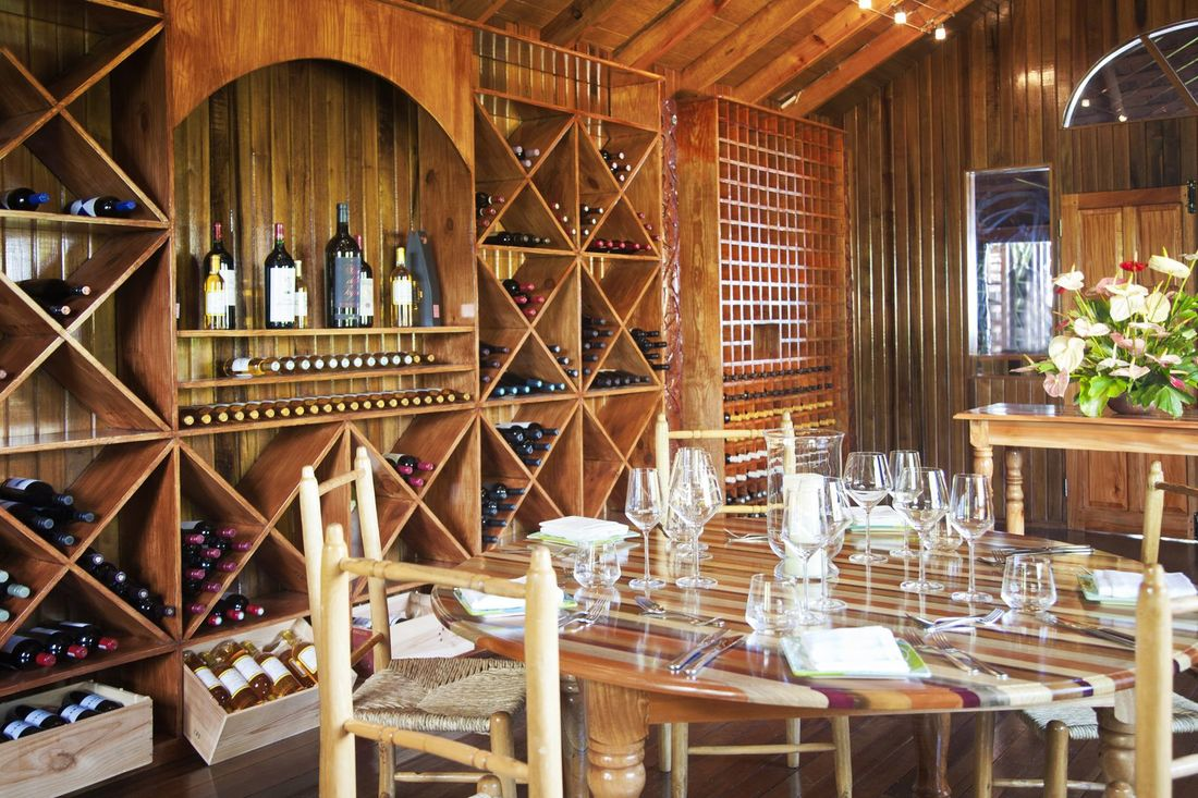 Restaurant Wine Rack